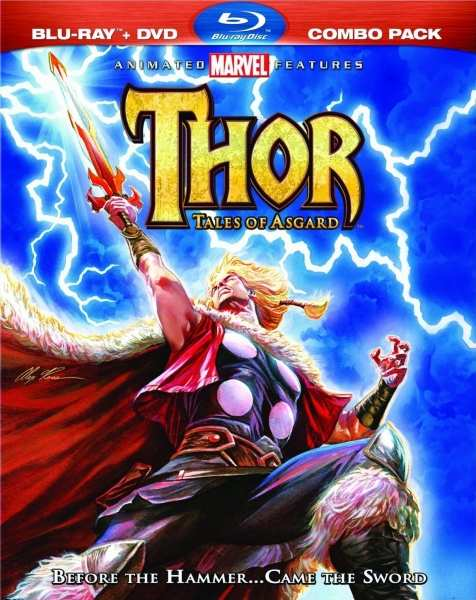 Тор: Сказания Асгарда / Thor: Tales of Asgard (2011) HDRip