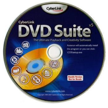 CyberLink DVD Suite 5.0 Samsung Edition Русская Версия