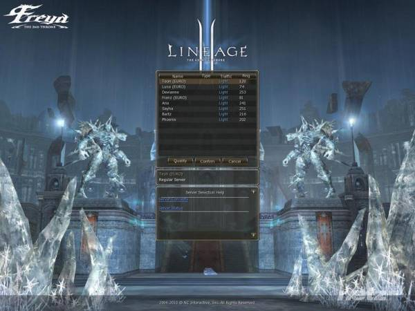 Lineage 2 The 2nd Throne: Freya (2010/RUS/RePack/OnLine)